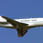 Частный перелет на Falcon 2000DX