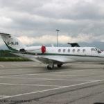 Частный перелет на Cessna CJ2