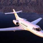 Частный перелет на Hawker 800XP