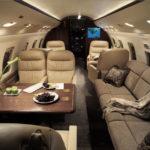 Частный перелет на Challenger 604