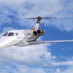 Частный перелет на Phenom 300