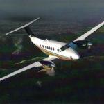Частный перелет на King Air B200GT