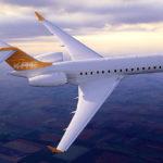 Частный перелет на Global Express XRS