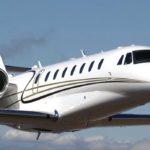 Частный перелет на Cessna Citation Sovereign