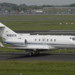 Частный перелет на Hawker 850XP