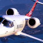 Частный перелет на Learjet 60 XR