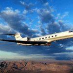 Частный перелет на Gulfstream V