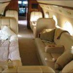 Частный перелет на Gulfstream G550