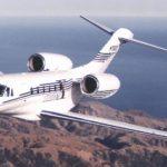 Частный перелет на Cessna Citation X