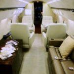 Частный перелет на Gulfstream IV
