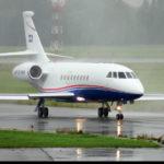 Частный перелет на Falcon 2000EX
