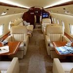 Частный перелет на Challenger 850